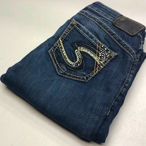 Womens Silver TUESDAY Jeans PREMIUM FLAP 28x33 😎